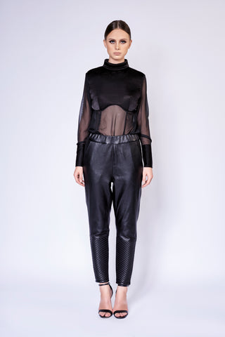 JET SETTER LEATHER PANTS