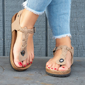 Women's flat-toed casual sandals