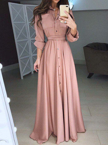 New Arrival Elegant And Slim Maxi Dress