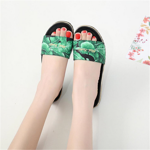 Fashion Casual Comfortable Flat Slippers