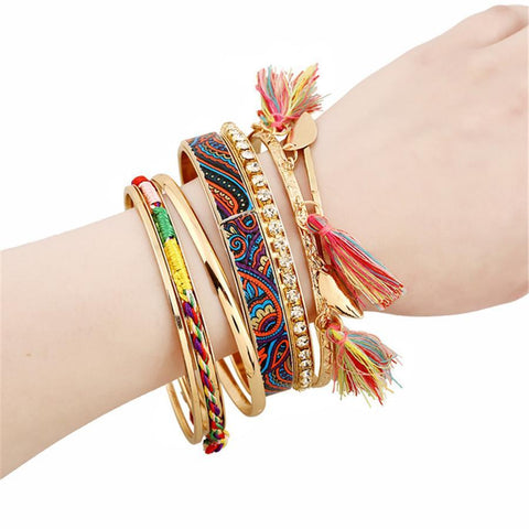 Fashion   round diamond tassel bracelet