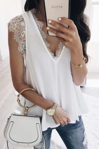 White Lovin' On You Reversible Top