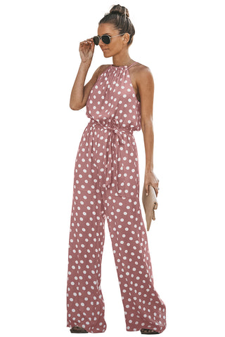 Pink Pretty Little Polka Dot Jumpsuit