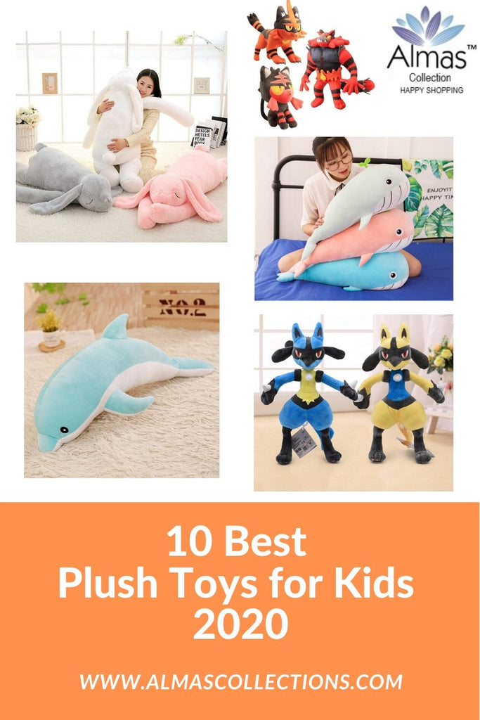10 Best Plush Animal Toys for Kids 2020