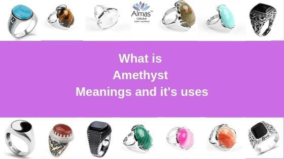 Amethyst Meanings and it's uses from Almas Collections
