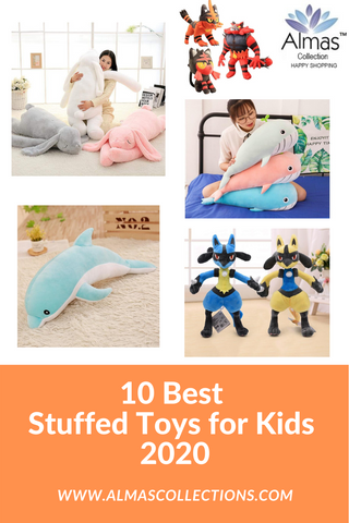 10 Best Stuffed Toys for Kids 2020 from Almas Collections