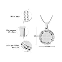 4 Qul Pendant Necklace Gift Hajj Umrah features from Almas Collections