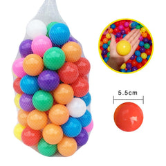 Ball pit Balls 400 Pcs size 5.5cm from Almas Collections