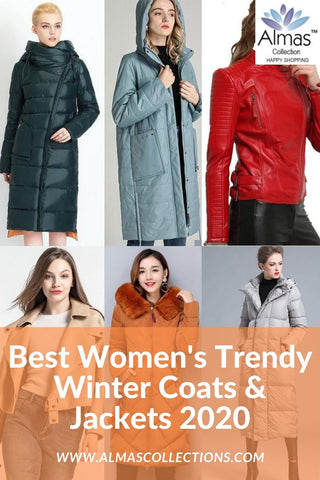 Best Women's Trendy Winter Coats & Jackets 2020 from Almas Collections