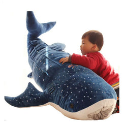 Blue Whale Shark Plush Toys from Almas Collections