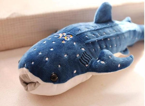 New Blue Whale Shark Plush Toys in Blue color from Almas Collections