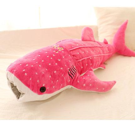 New Blue Whale Shark Plush Toys in Pink color from Almas Collections