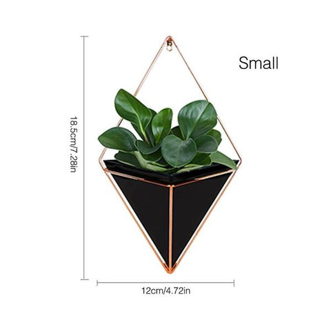 New Hanging Geometric Plant Decor Small size from Almas Collections