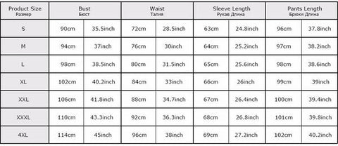 New Muslim Women Swim Wear from Almas Collections size chart