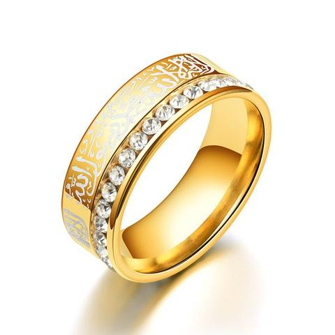 Stainless Steel Women/Men Black Blue Silver Gold Color Rings from Almas Collections