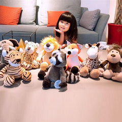Plush Animals of the World from Almas Collections