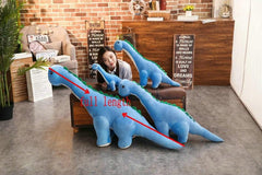 Plush Dinosaur Toys 4 sizes from Almas Collections