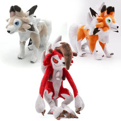 Pokemon Lycanroc Plush Toys from Almas Collections