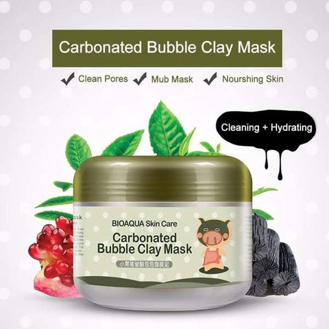 Clay mask from Almas Collections