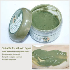 Organic eco friendly clay mask from Almas Collections