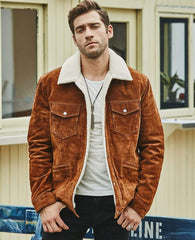 Men's Genuine Leather Jacket From Almas Collections