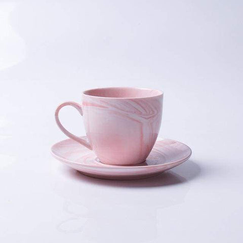 Modern Marbled Ceramic Coffee Cup Set HM1 Almas Collections  tea cup