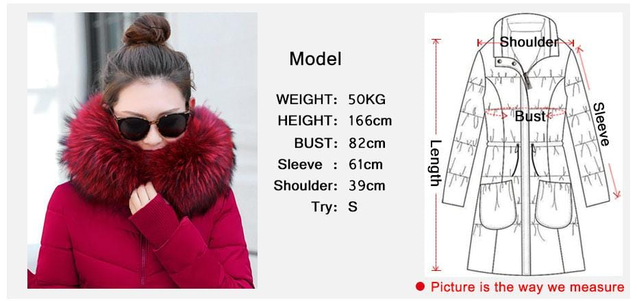 New Almas Long Hooded Parkas Winter Jacket Almas Collections
