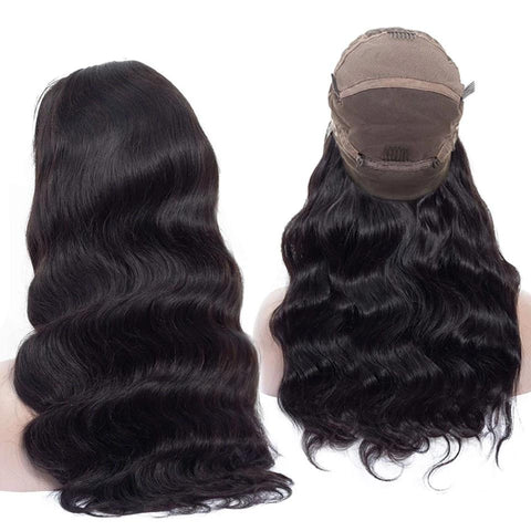 Image of Full Lace Remy Long Human Hair Wigs from Almas Collections