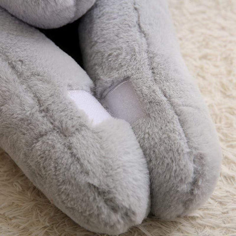 Image of New Super Plush Giant Bunny paws from Almas Collections