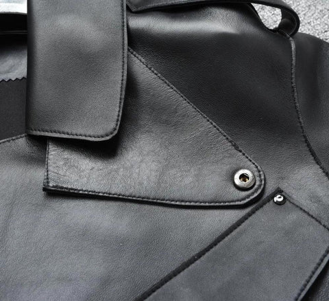 Image of New Genuine Women Leather Jacket close up from Almas Collections