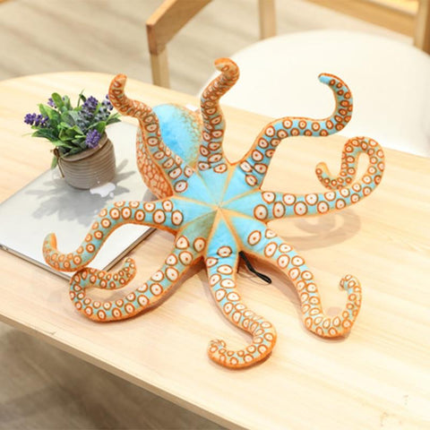 Image of Real Life looking Big Plush Octopus Doll Octopus