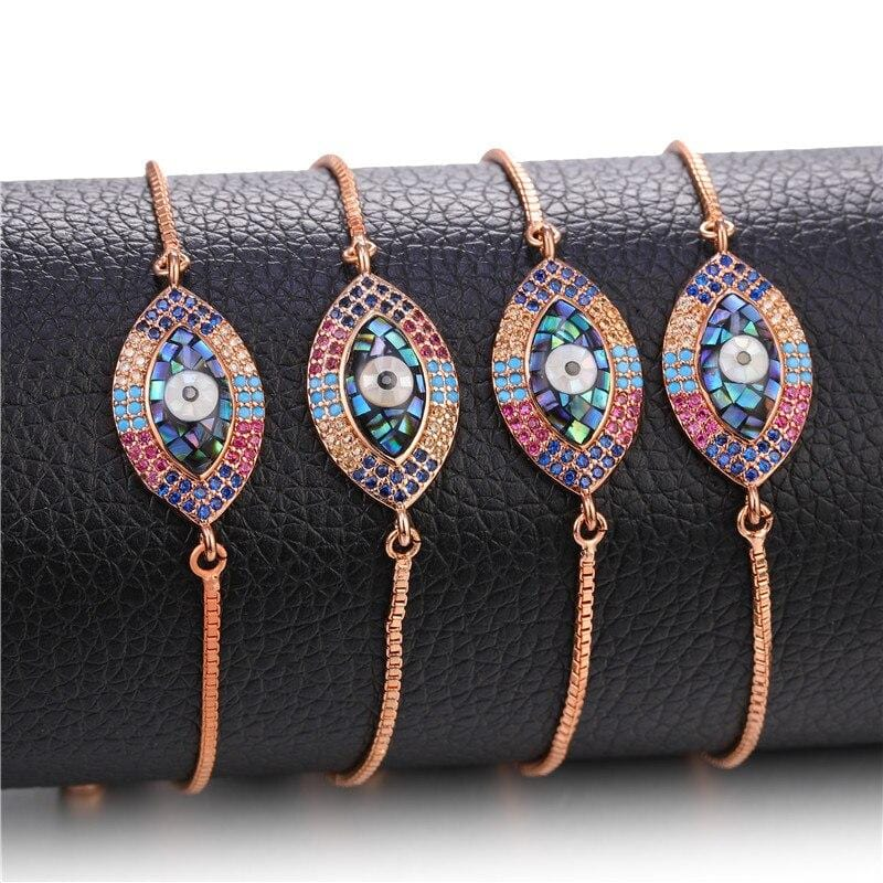 Turkish Evil Eye Charm Bracelets from Almas Collections