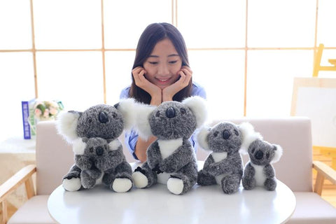 Image of Henry Plush Koala Plush Toys set from Almas Collections