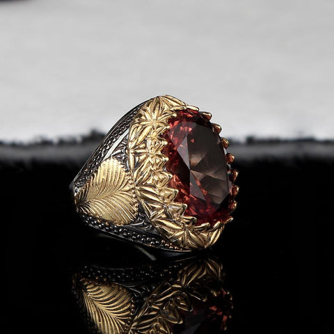Turkish Oval Sterling Silver Zultanite Ring