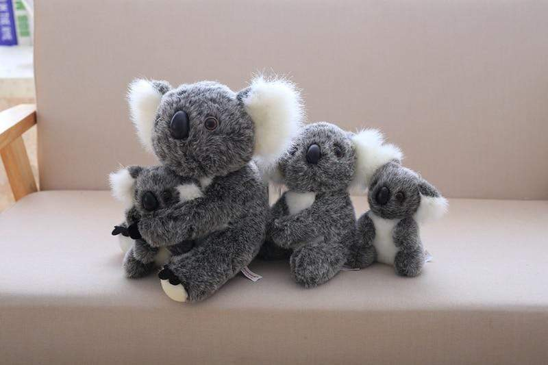 Henry Plush Koala Plush Toys grey family from Almas Collections
