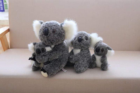 Image of Henry Plush Koala Plush Toys grey family from Almas Collections