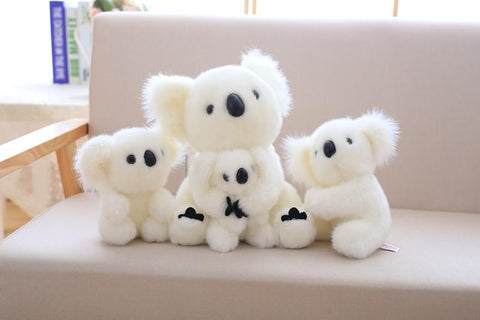 Image of Henry Plush Koala Plush Toys white family from Almas Collections