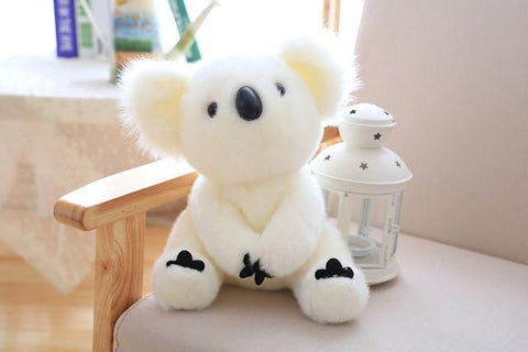 Image of Henry Plush Koala Plush Toys in white from Almas Collections