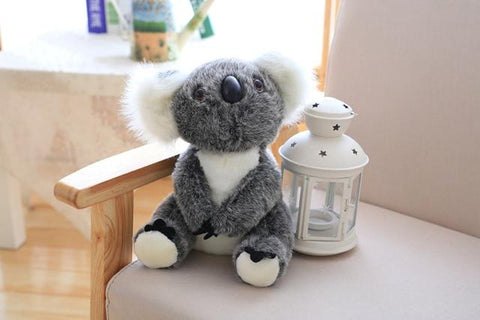 Image of Henry Plush Koala Plush Toys in grey from Almas Collections