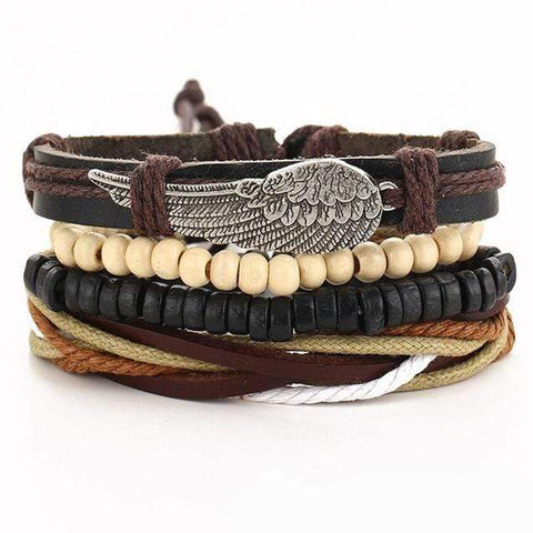 Image of boho charm bracelets from Almas Collections