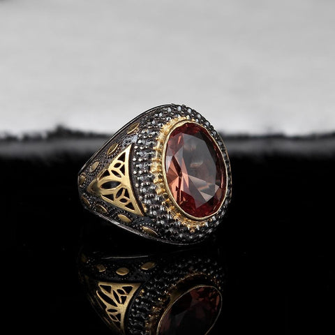 Turkish Sterling Silver Zultanite Ring from Almas Collections