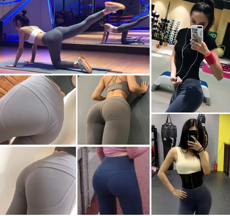 Women's High Waist Yoga Pants used by our customers