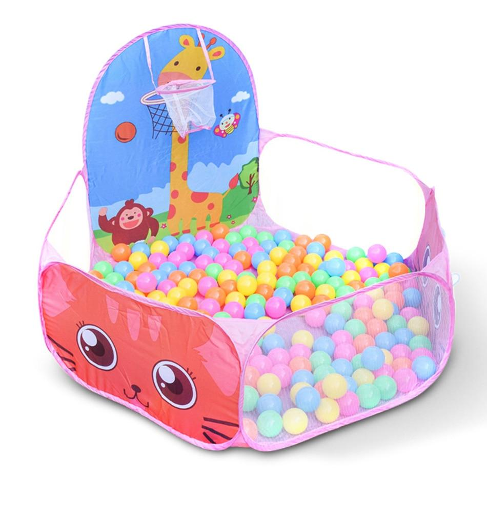 50 Pcs 7cm Colorful Ball Pit Plastic Balls from Almas Collections