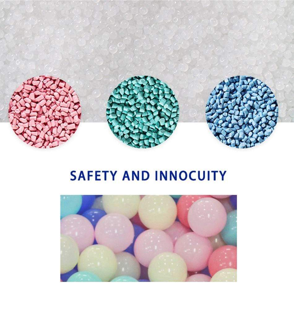 50 Pcs 7cm Colorful Ball Pit Plastic Balls high grade food grade