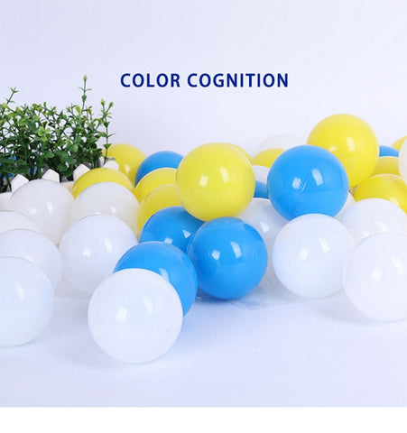 Image of 50 Pcs 7cm Nursery Ball Pit Plastic Balls
