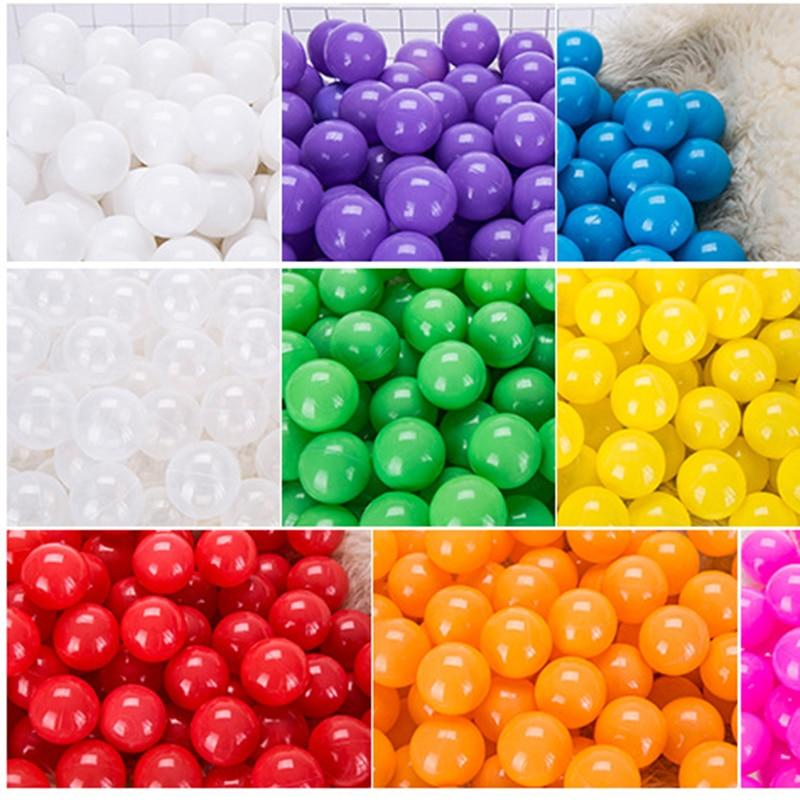 50 Pcs 7cm Colorful Ball Pit Plastic Balls