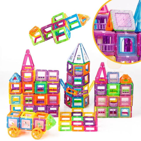 Image of Magnetic Construction Blocks KS1
