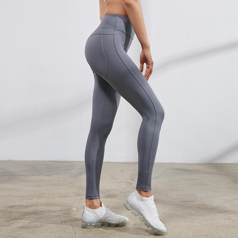 compression tights side view