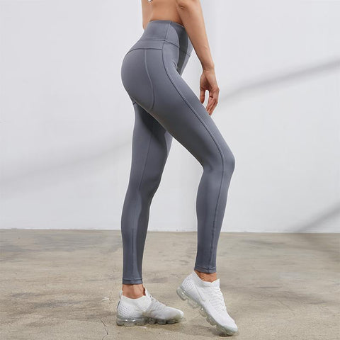 Image of compression tights side view