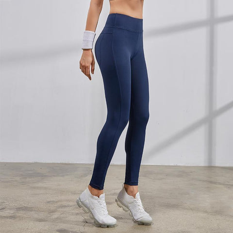 Image of Women's High Waist Yoga Pants side view